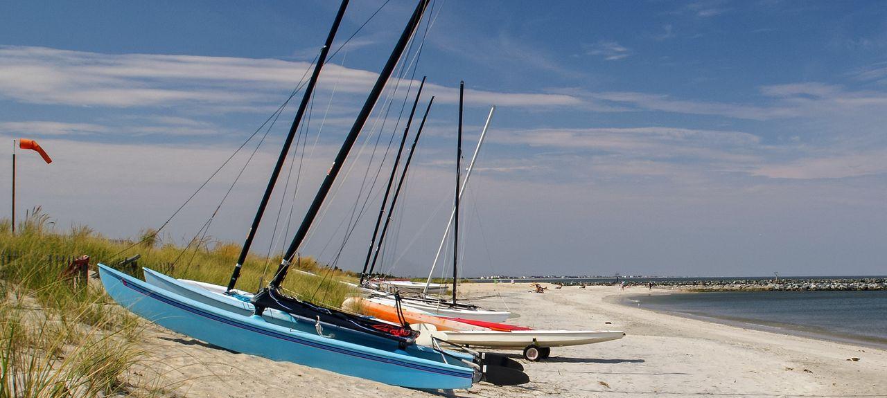 Lewes Beach, Lewes, DE, USA