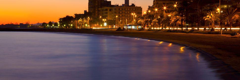 Santa Pola, Valencia, Spanien