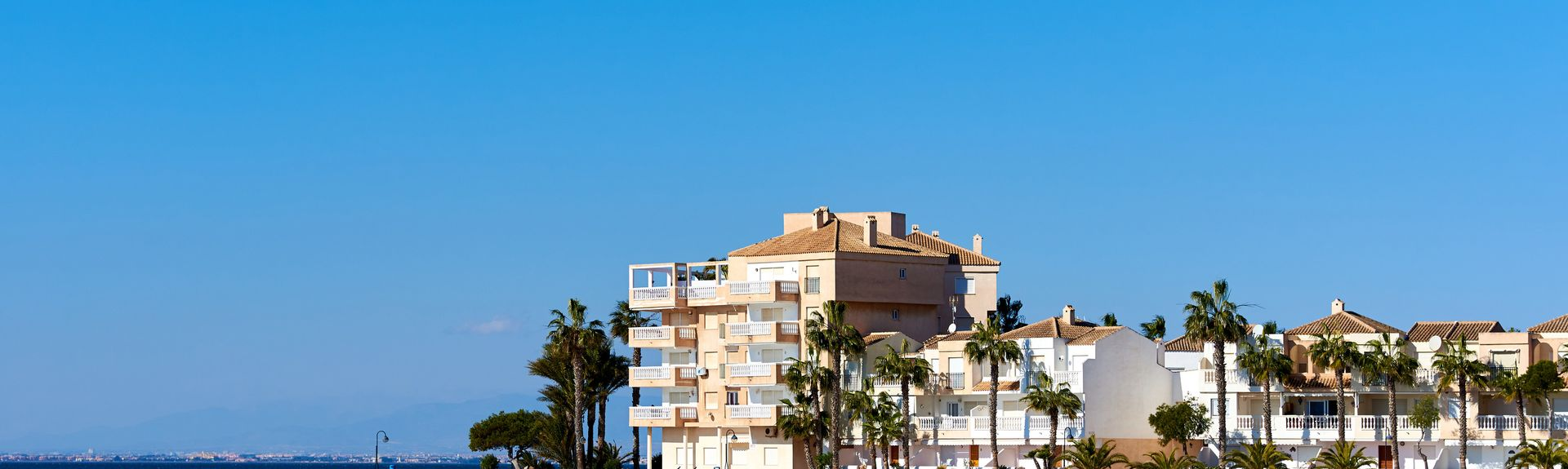 La Manga del Mar Menor, Murcia, Spanien