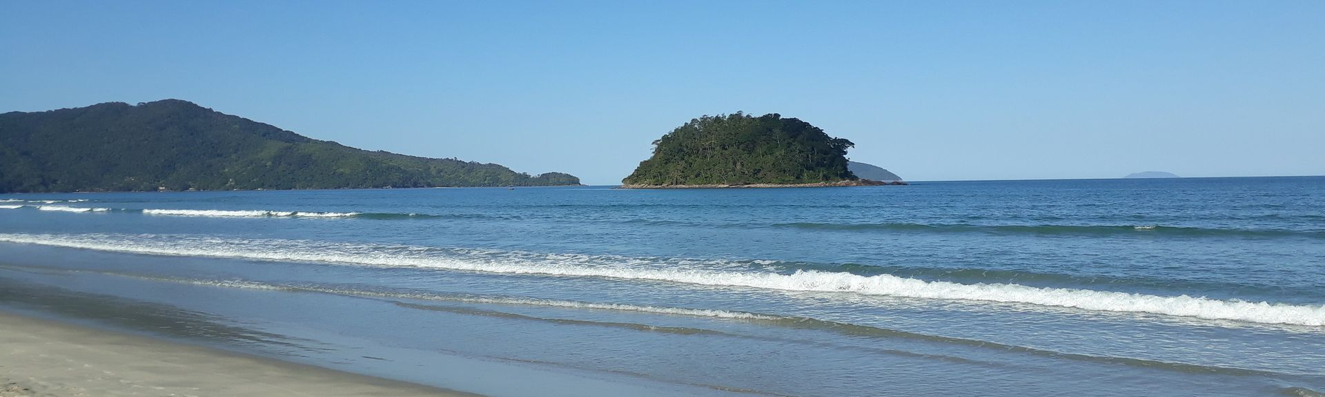 Itagua Beach, Ubatuba, Southeast Region, Brazil