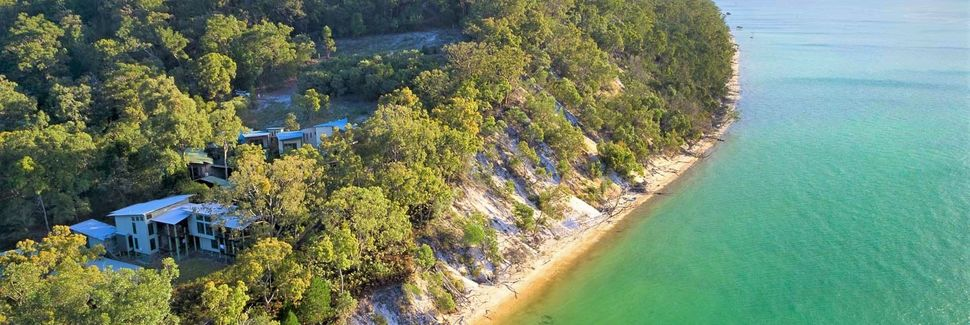 Lake Wabby, Queensland, Australië