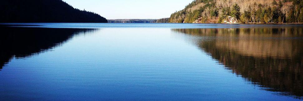 Schoodic Peninsula, Winter Harbor, Maine, États-Unis d'Amérique