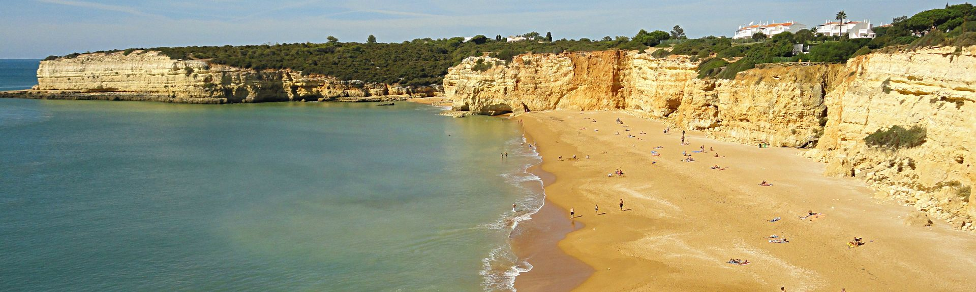 Luz Beach, Lagos, Faro District, Portugal