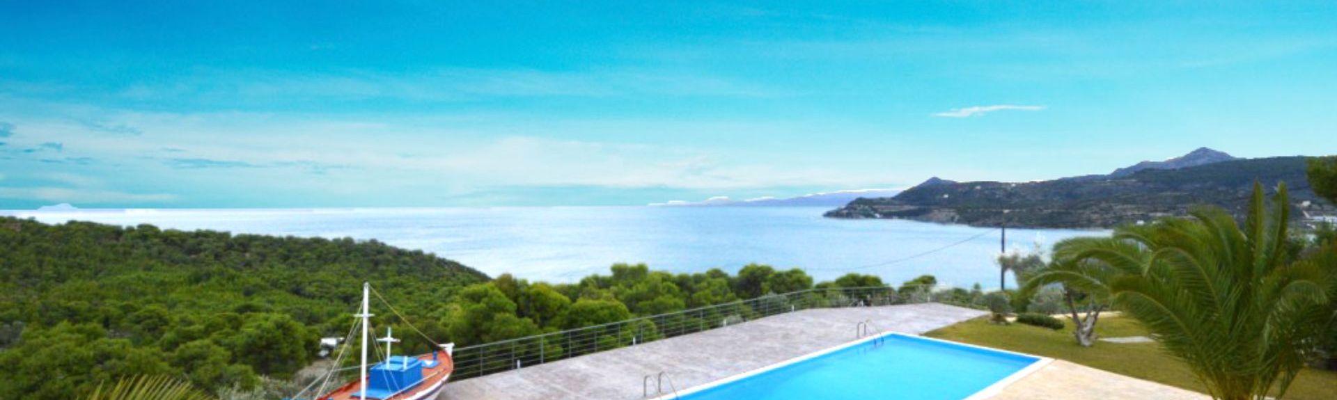 Παραλία Λιμνιώνα, Τροιζηνία, Αττική, Ελλάδα