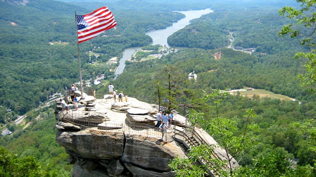 Chimney Rock, NC, USA