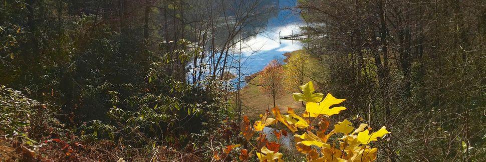 Bear Creek Lake, Tuckasegee, Pohjois-Carolina, Yhdysvallat