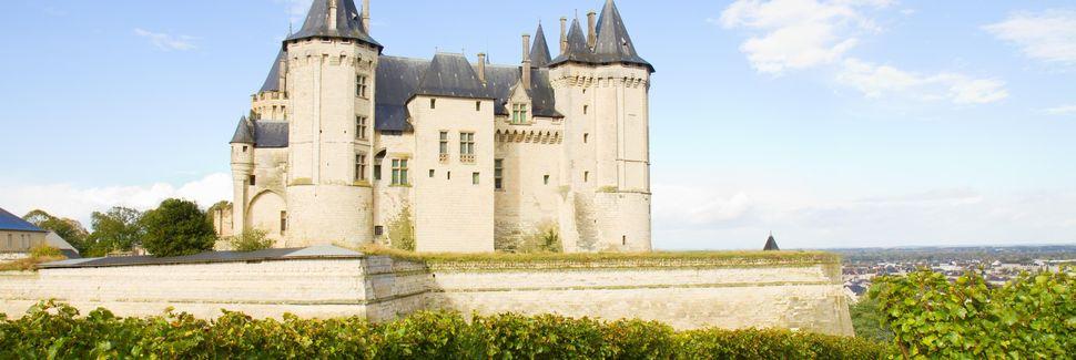 Chateau de Saumur, Saumur, Pays de la Loire, França