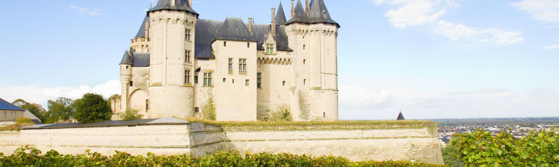 Château de Saumur, Saumur, Pays de la Loire, Frankrijk