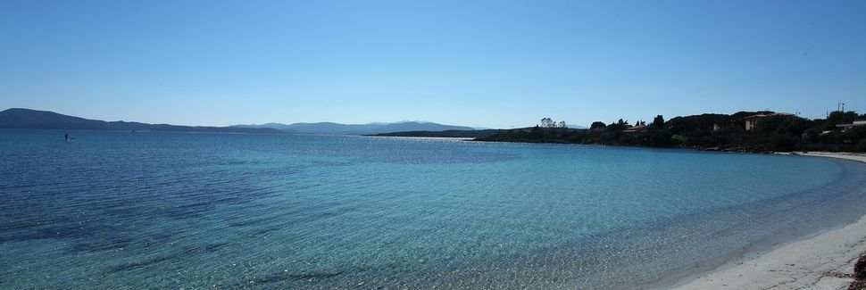 Spiaggia di Cala Suaraccia, San Teodoro, Sardenha, Itália