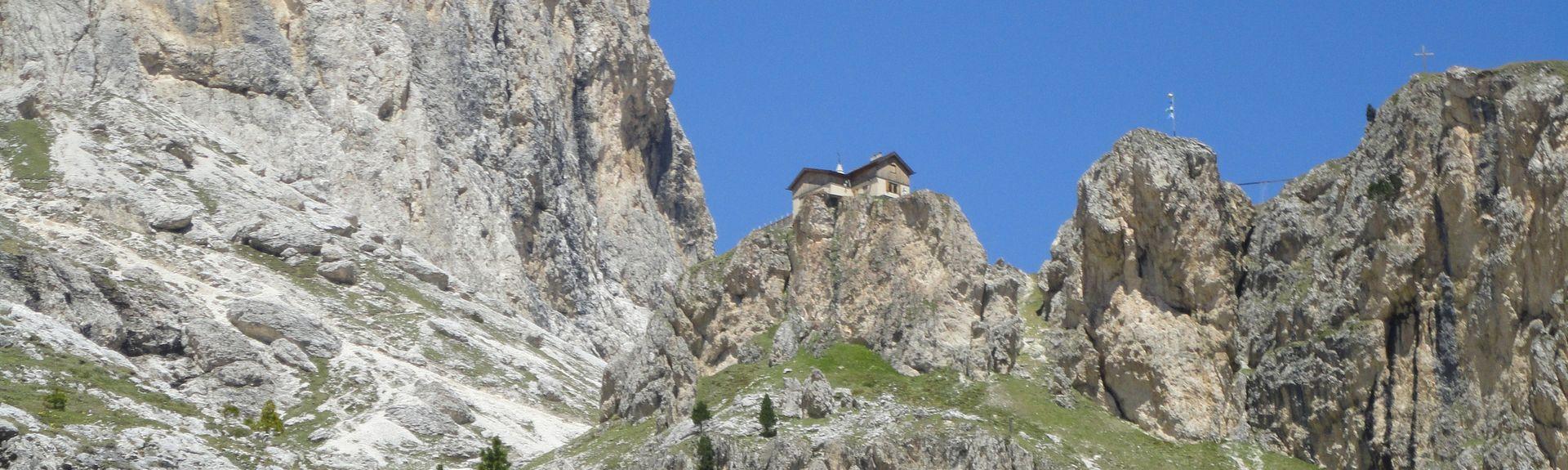 San Pellegrino Pass, Moena, Trentin-Haut-Adige, Italie