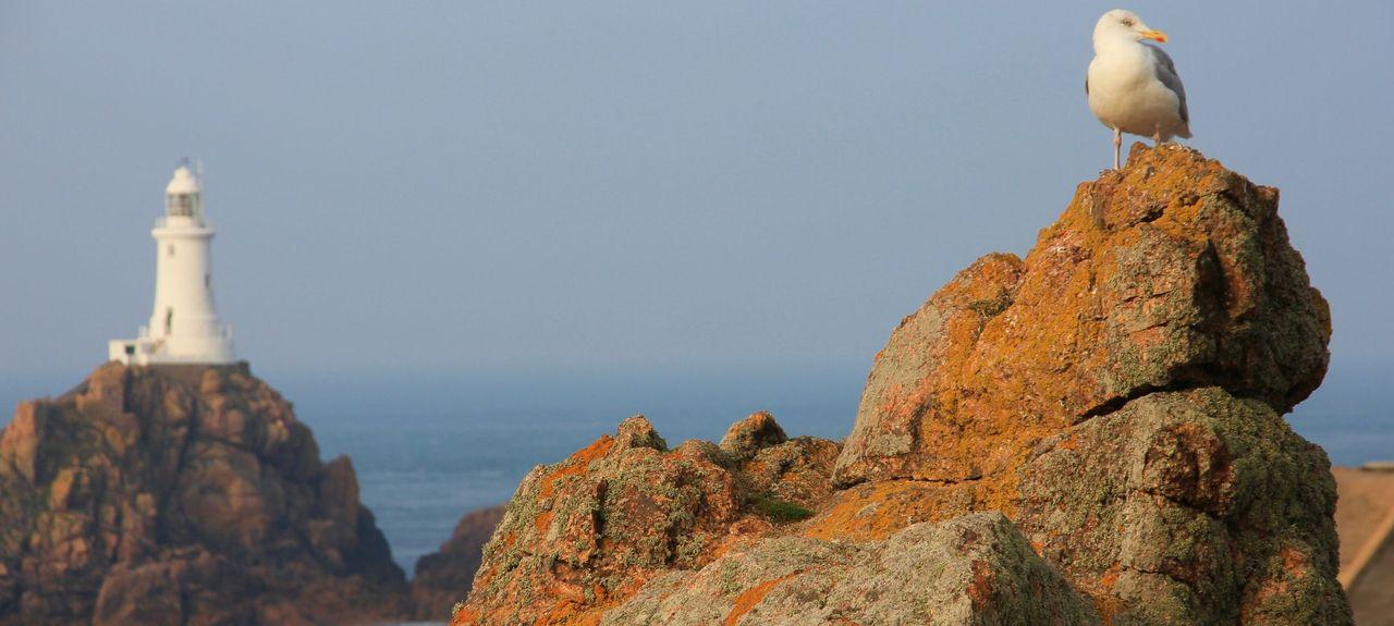 St Brelade's Bay Beach, St. Brelade, Channel Islands, United Kingdom