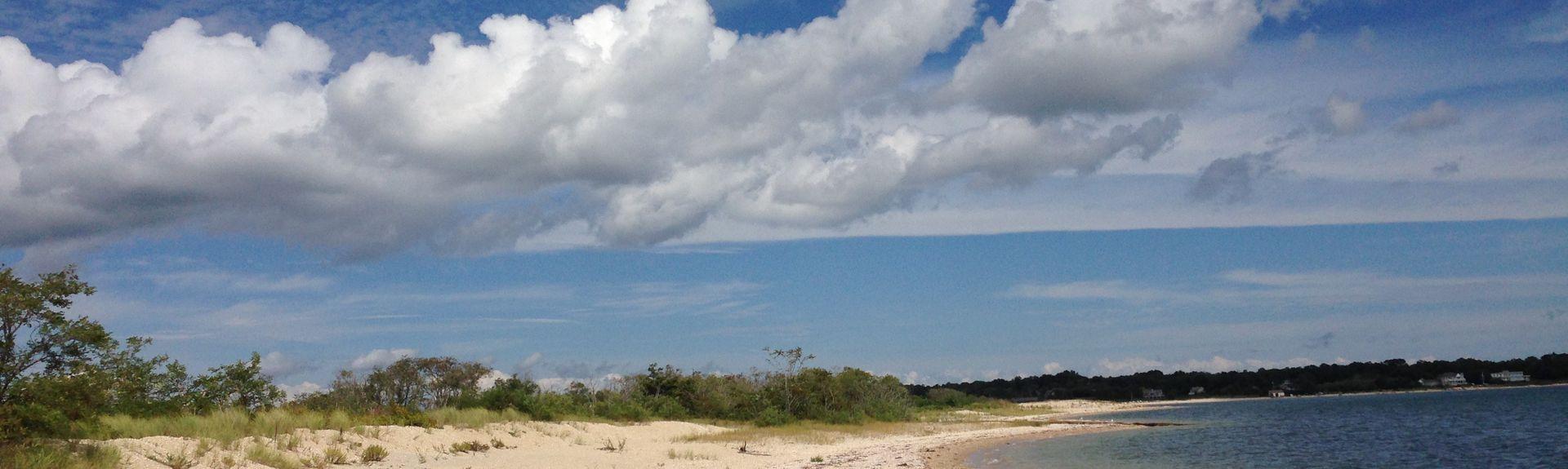 Meschutt Beach, Hampton Bays, NY, USA