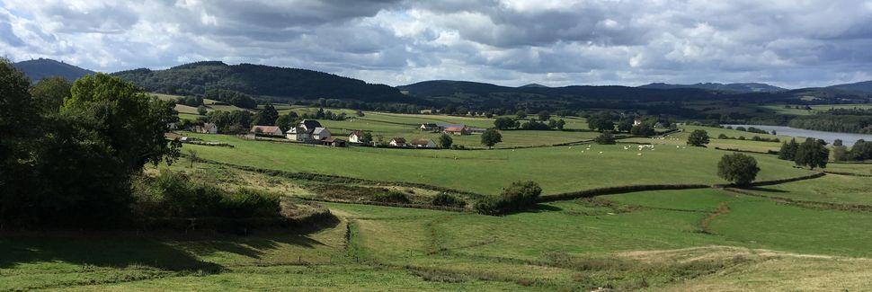 Canton d'Issy-l'Évêque, Bourgogne-Franche-Comté, Francja