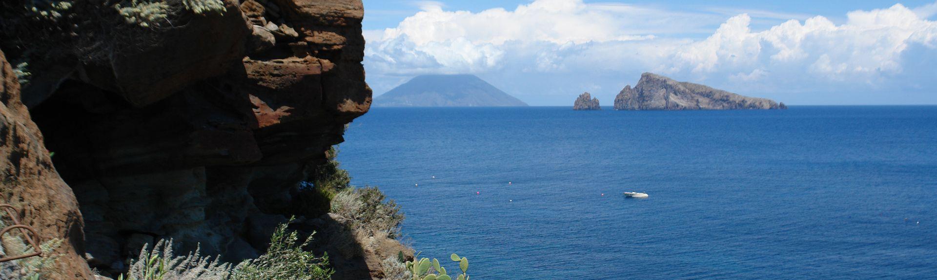 Vulcano Stromboli, Stromboli, Sicilia, Italia