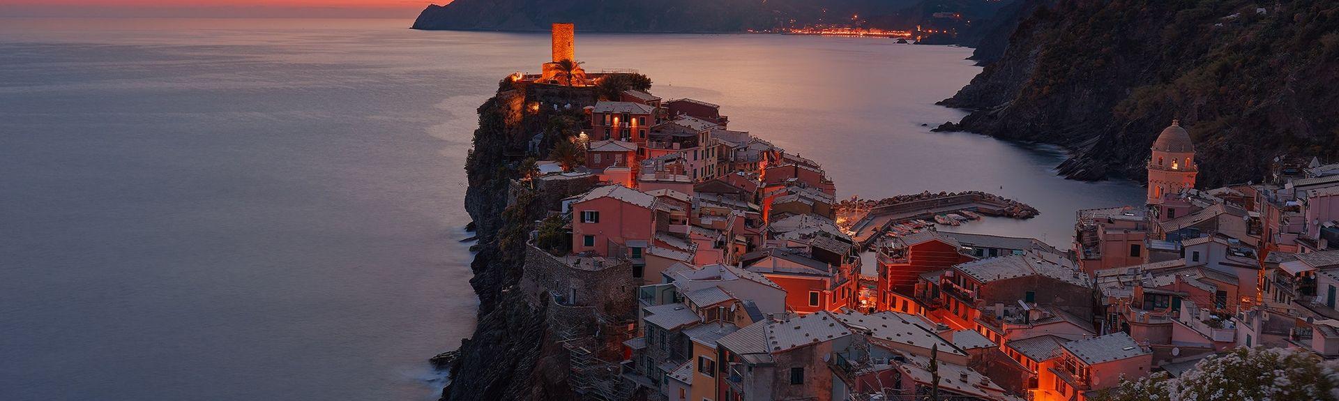 San Rocco, Ligurie, Italie