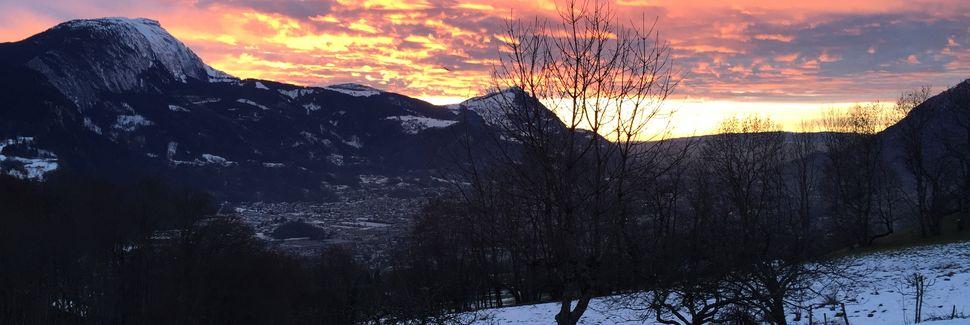 Super Morzine -hiihtohissi, Morzine, Auvergne-Rhône-Alpes, Ranska