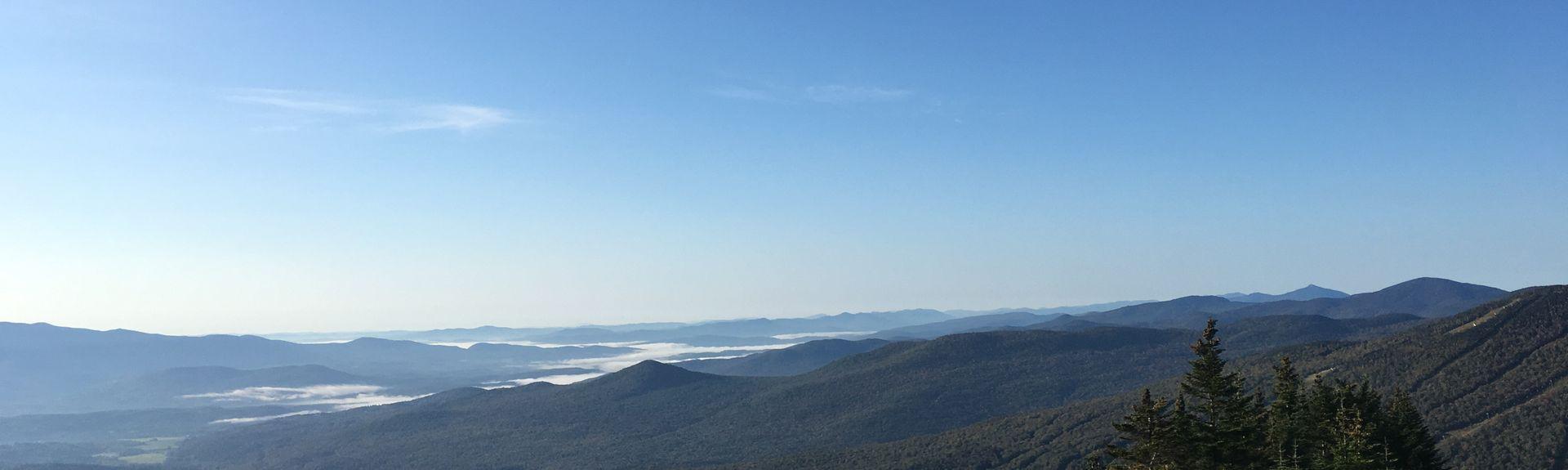 Pico de Mount Mansfield, Underhill, Vermont, Estados Unidos