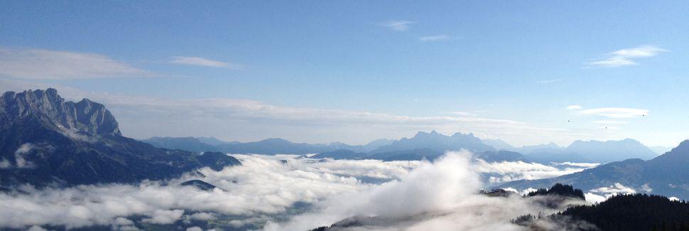 Teleférico de Esqui de Ehrenbachhöhe, Kitzbuehel, Tyrol, Áustria