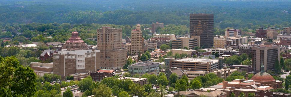 Innenstadt von Asheville, Asheville, North Carolina, Vereinigte Staaten