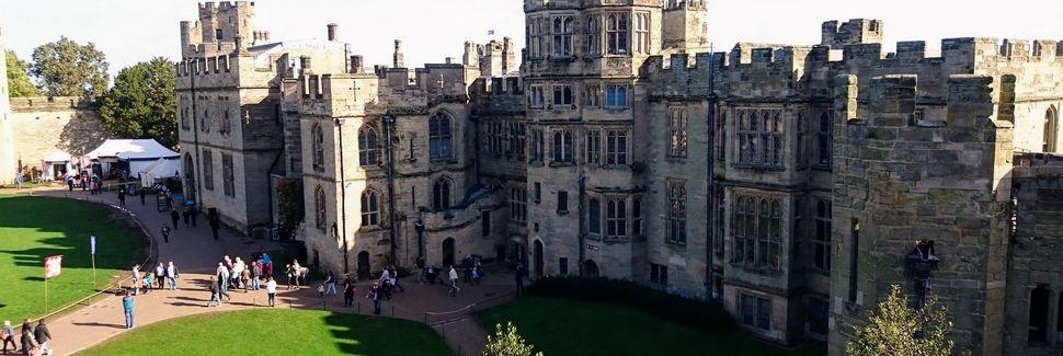 Warwick Castle, Warwick, England, Storbritannien