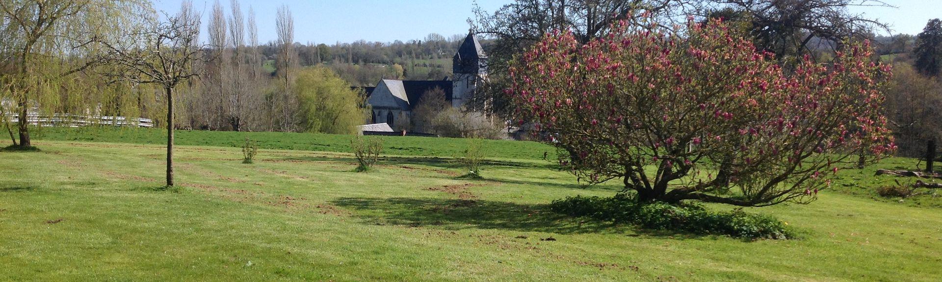 Gonneville-sur-Honfleur, Normandië, Frankrijk