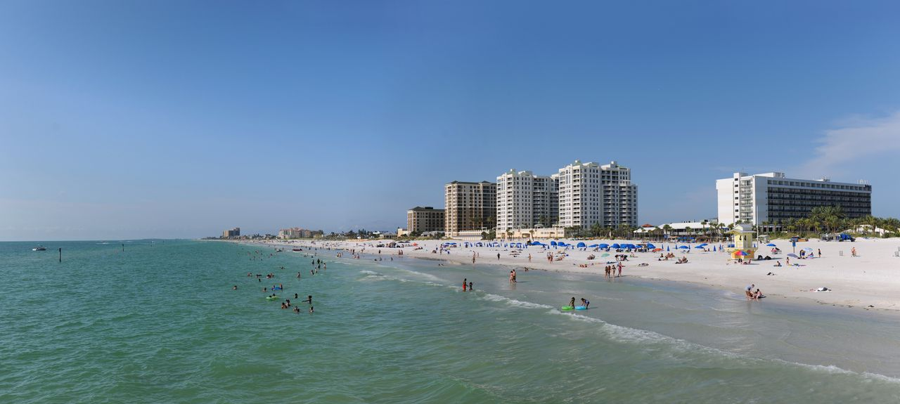 Clearwater Beach, Clearwater, FL, USA