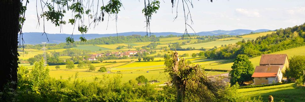 Blanot, Clunisois, Bourgogne-Franche-Comté, Frankreich