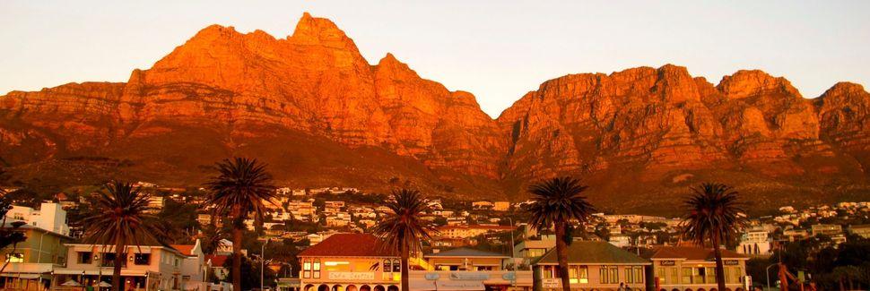 Camps Bay, Kapkaupunki, Länsi-Kap, Etelä-Afrikka