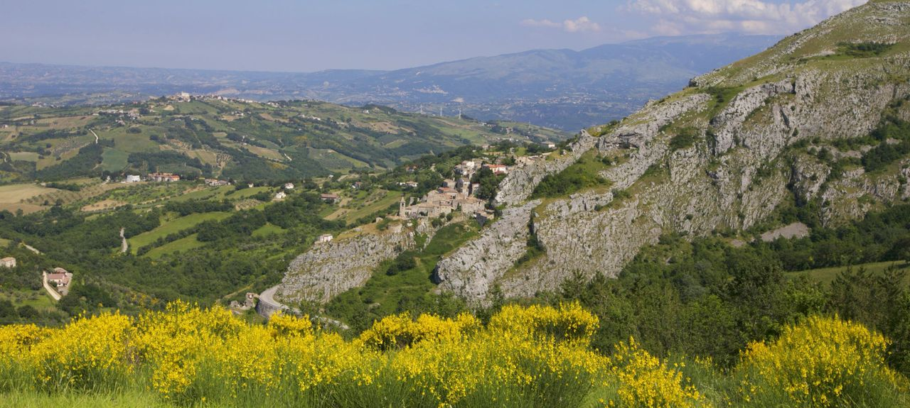 Castel del Monte, Abruzzes, Italie