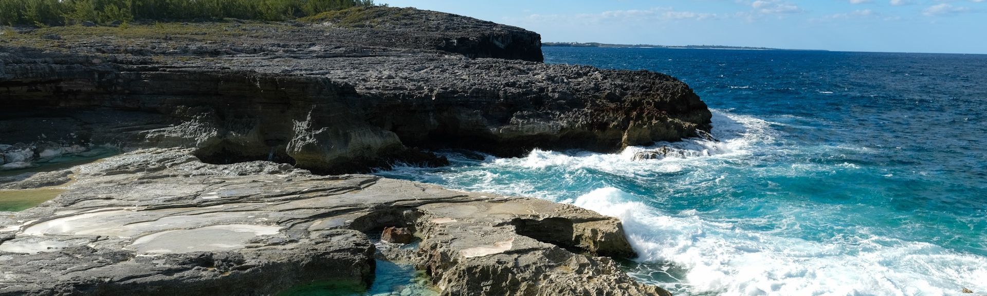 Hut Point Beach, Governor's Harbour, Central Eleuthera, Bahamas