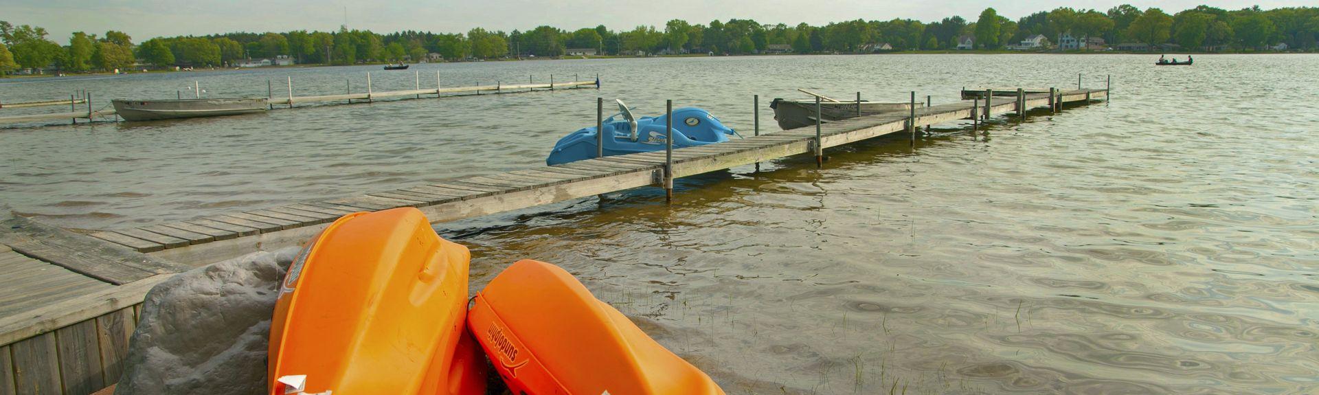 Fremont Lake Park, Fremont, Michigan, États-Unis d'Amérique