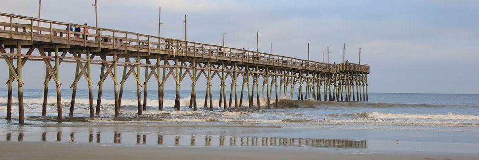 Sunset Beach, Caroline du Nord, États-Unis d'Amérique