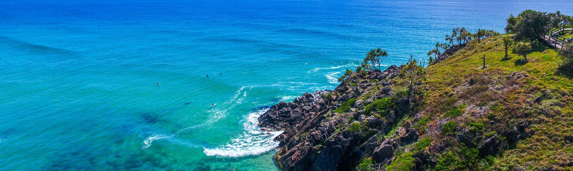 Point Danger, Tweed Heads, New South Wales, Australia