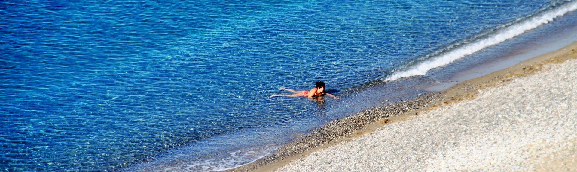 Παραλία του Πλακιά, Πλακιάς, Κρήτη, Ελλάδα