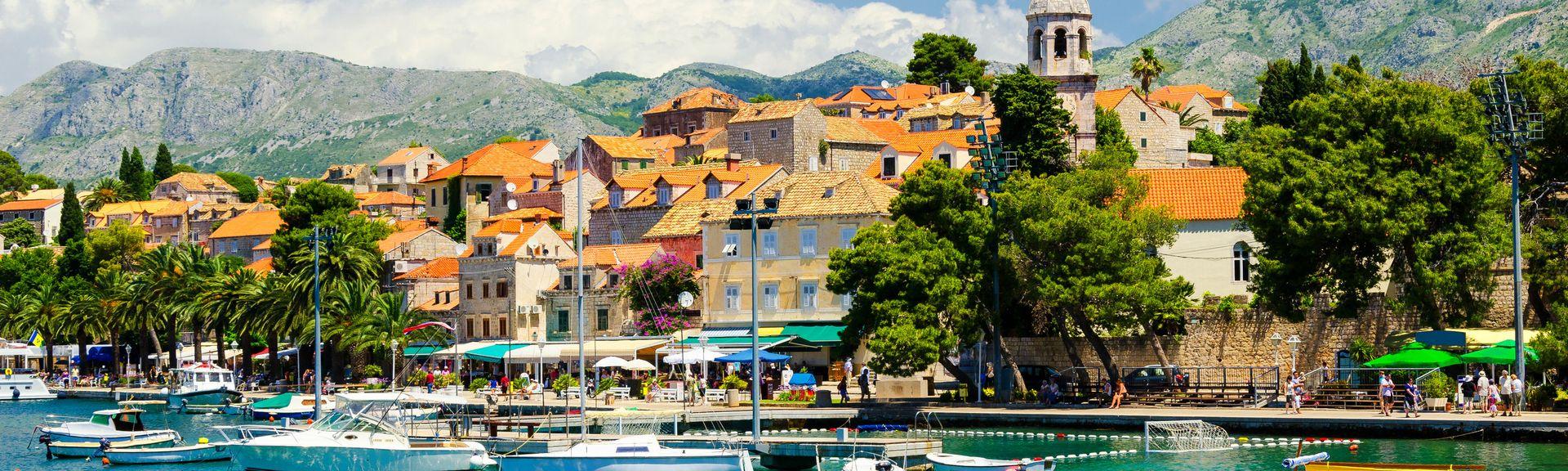 Cavtat, Dubrovnik-Neretvas län, Kroatien