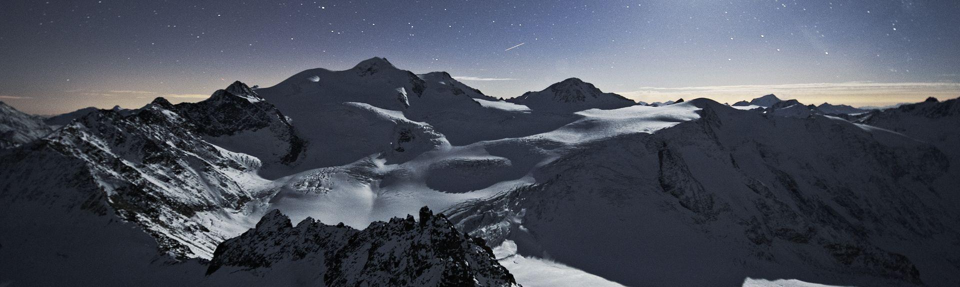 Similaun, Sölden, Tirol, Áustria