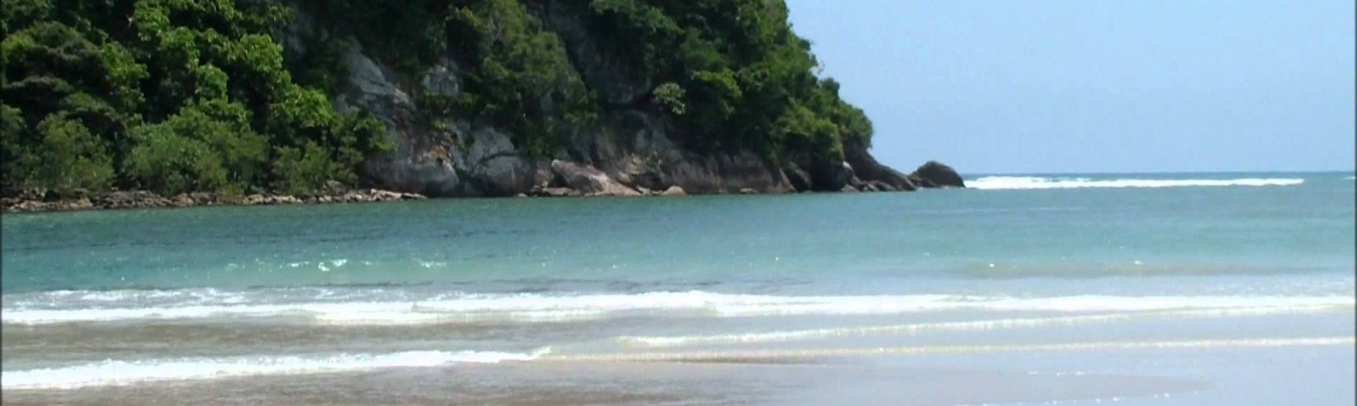 Barra do Sahy Beach, Sao Sebastiao, Brazil