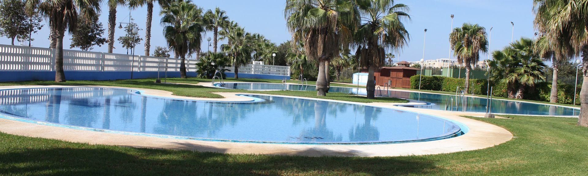Castor Park, Roquetas de Mar, Andalusien, Spanien