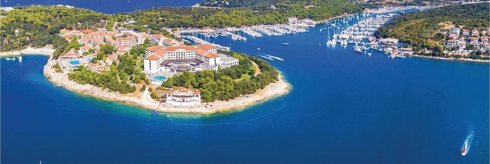 Liznjan, Istrië, Kroatië