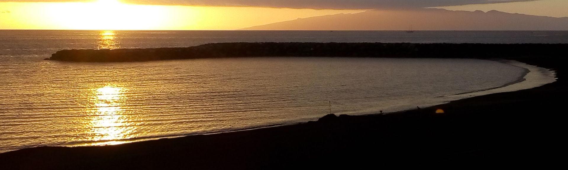 Alcala Beach, Guia de Isora, Spain