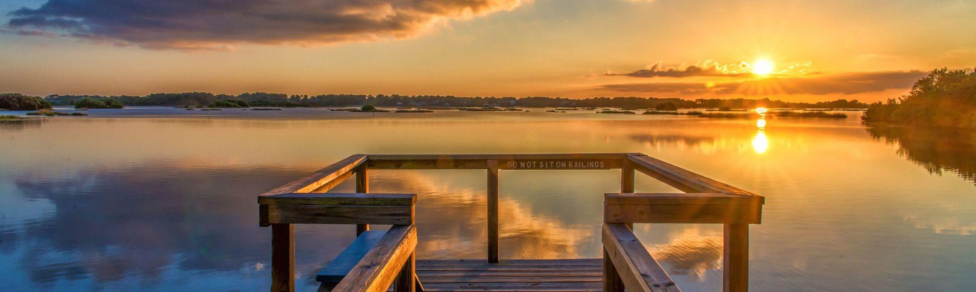 Muelle de Cedar Key, Cedar Key, Florida, Estados Unidos