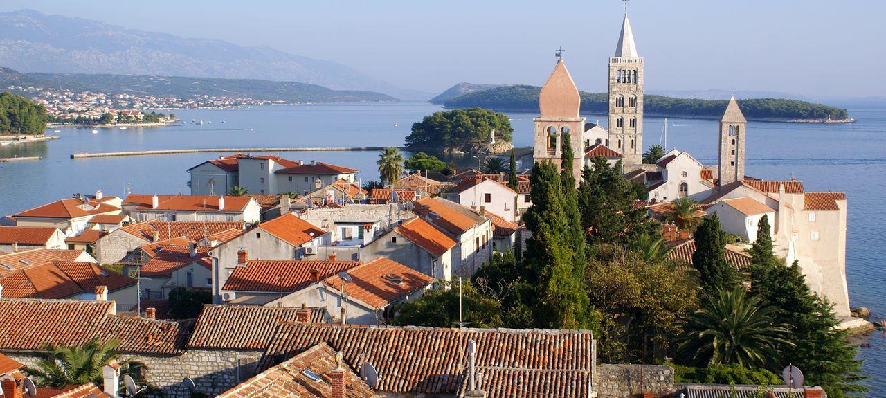 Insel Rab, Rab, Gespanschaft Primorje-Gorski Kotar, Kroatien