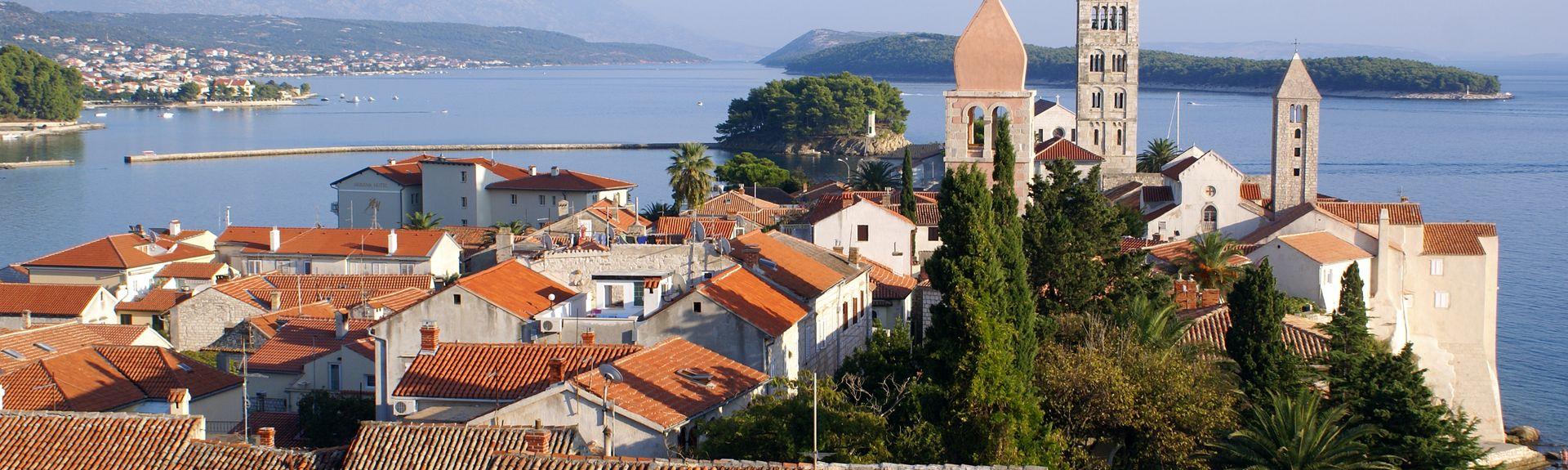 Insel Rab, Primorje-Gorski Kotar, Kroatien