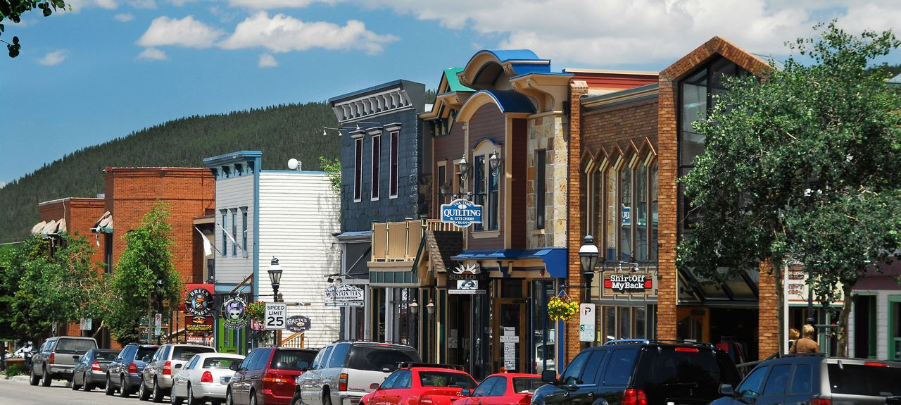 Historic District, Breckenridge, Colorado, États-Unis d'Amérique