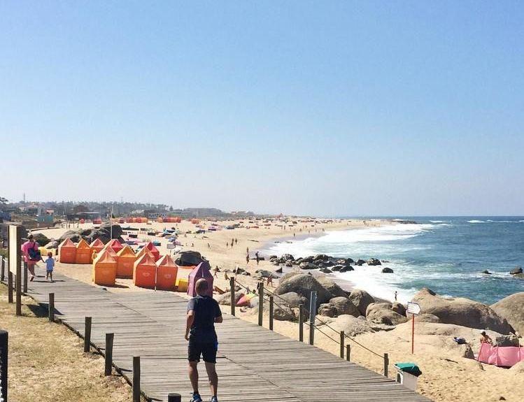 Leca da Palmeira Beach, Matosinhos, Portugal