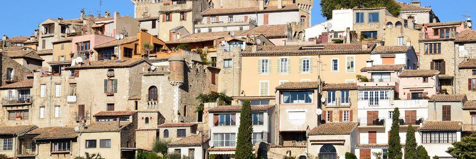 Cagnes sur Mer, Provence-Alpes-Côte d'Azur, Frankrike