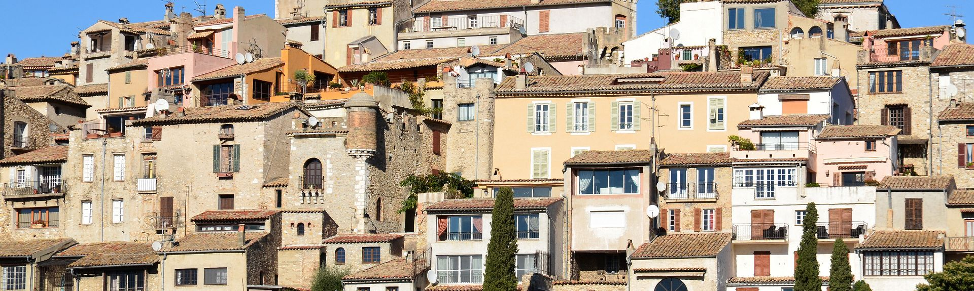 Cagnes-sur-Mer, Provence-Alpes-Côte d'Azur, Frankrike
