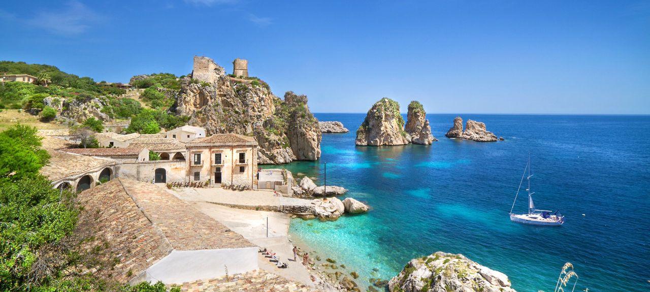 Custonaci, Sicile, Italie