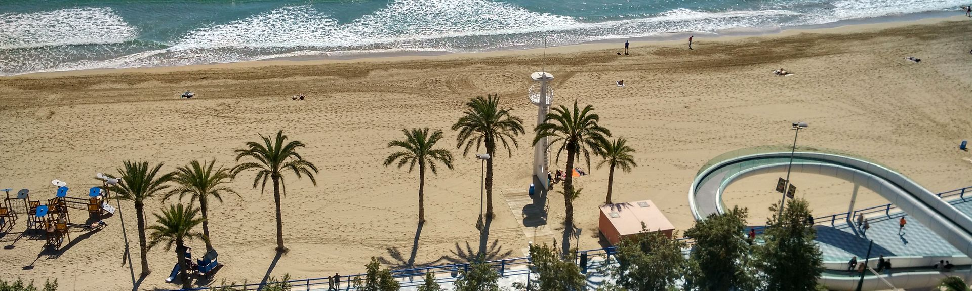 Barri Vell - Santa Creu, Alicante, Comunitat Valenciana, Spanien