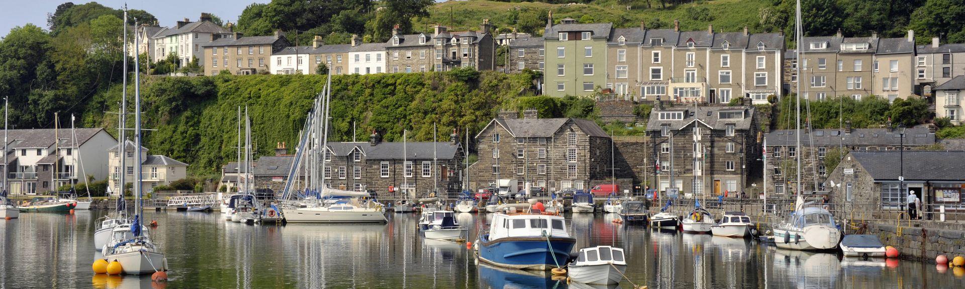 Porthmadog, Wales, Verenigd Koninkrijk